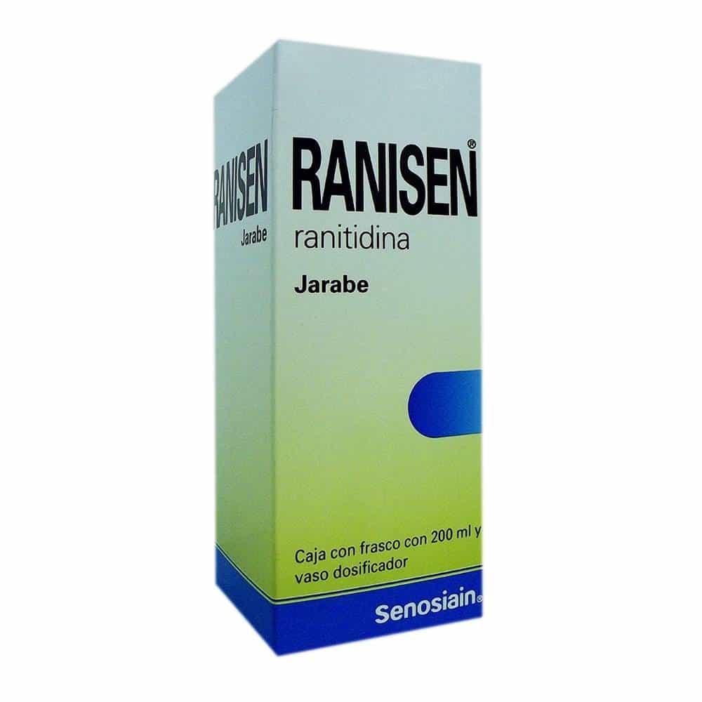 ranitidina efectos secundarios